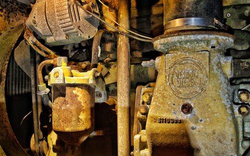 old  engine  detroit