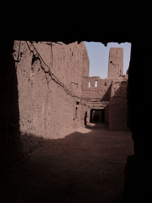 old morocco village