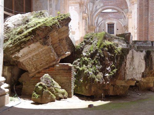 old guatemala ruins