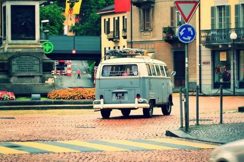 old van volkswagen