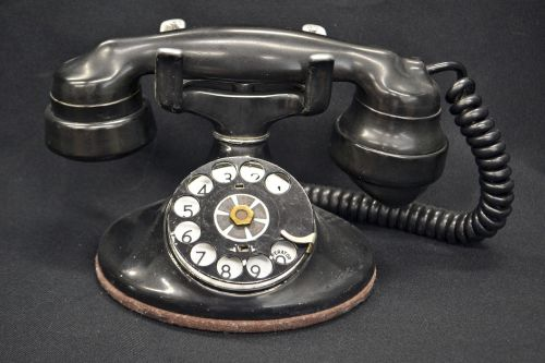 old phone rotary