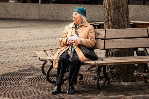 old age  women  grandmother