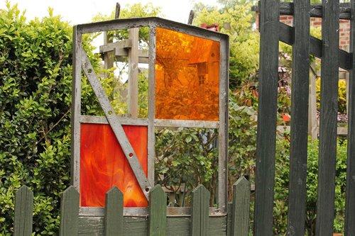 old barn window  install window  gartendeko