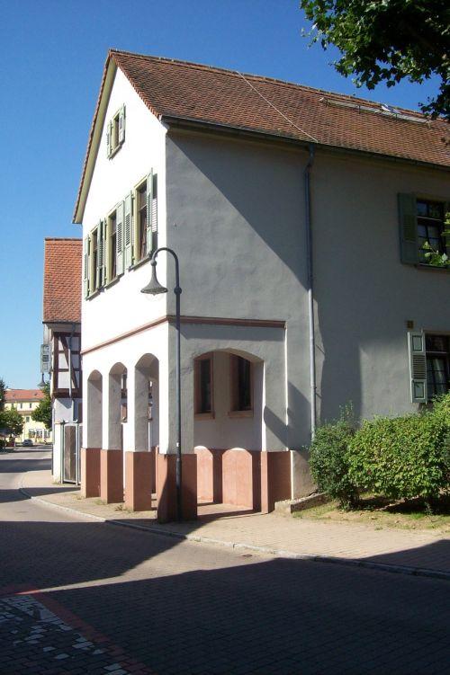 old barracks bensheim-auerbach cultural heritage