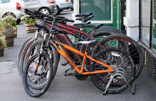 Old Bicycles For Hire