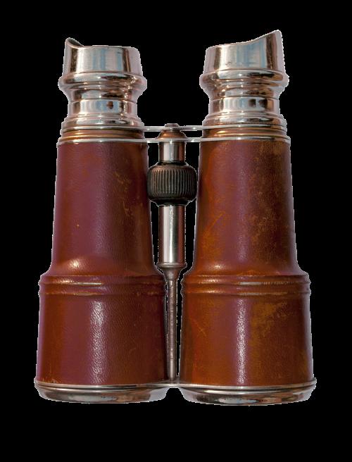 old binoculars attribute history