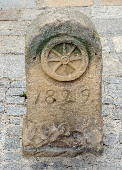 old boundary stone old town bad radkersburg