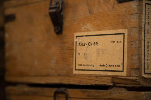 Old Box Of Ammunition