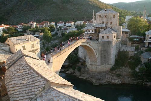 old bridge mostar ottoman bridge