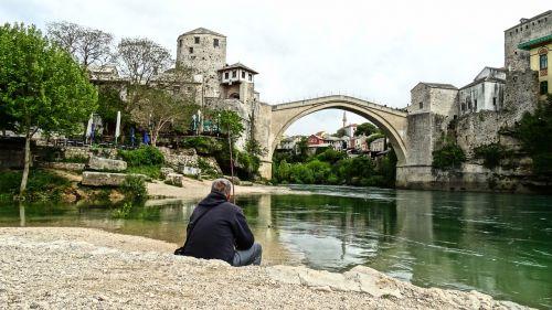 old bridge mostar river