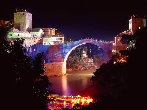 old bridge mostar bosnia