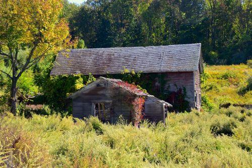 old building rural old