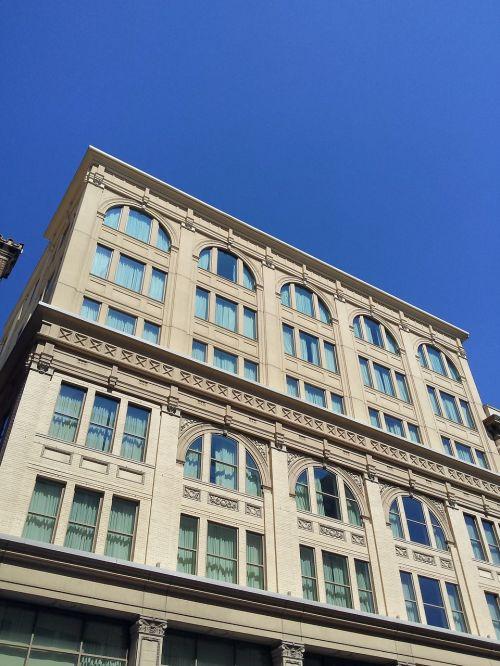 old building san antonio windows