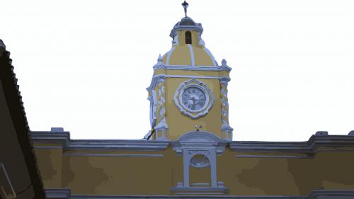 old building antigua guatemala guatemala