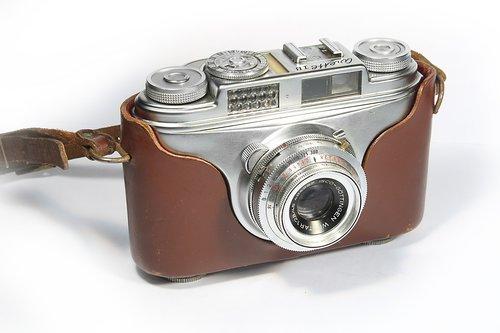 old camera  history  camera