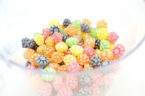 old candy candy berries