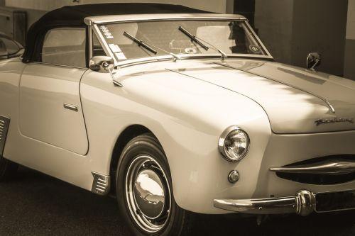 old car vintage car panhard