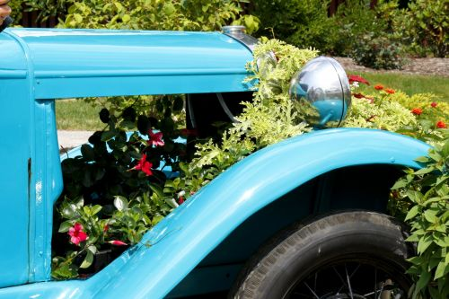 Old Car Planter 1