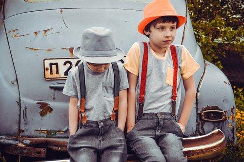 old cars  retro-car  kids