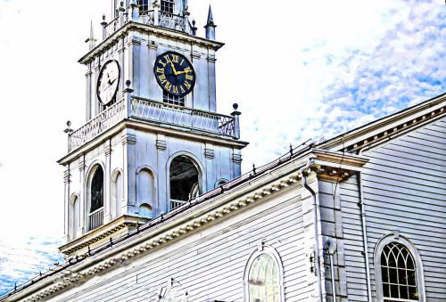Old Church Clock Tower