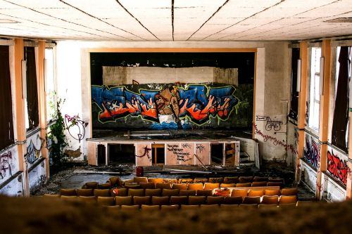old cinema cinema lost places