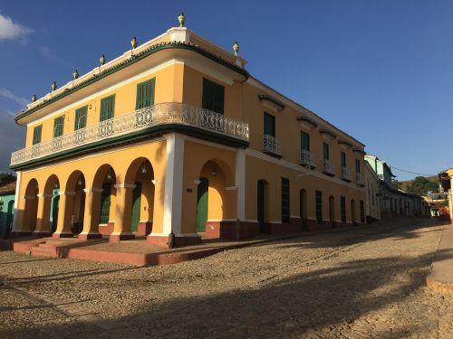 old colonial house cuba trinidad cuba old house