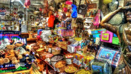 saldainiai, laikyti, šalies parduotuvė, prekes, parduotuvė, apsipirkimas, Halloween, parduotuvės, tiekimas, senoji šalies parduotuvė