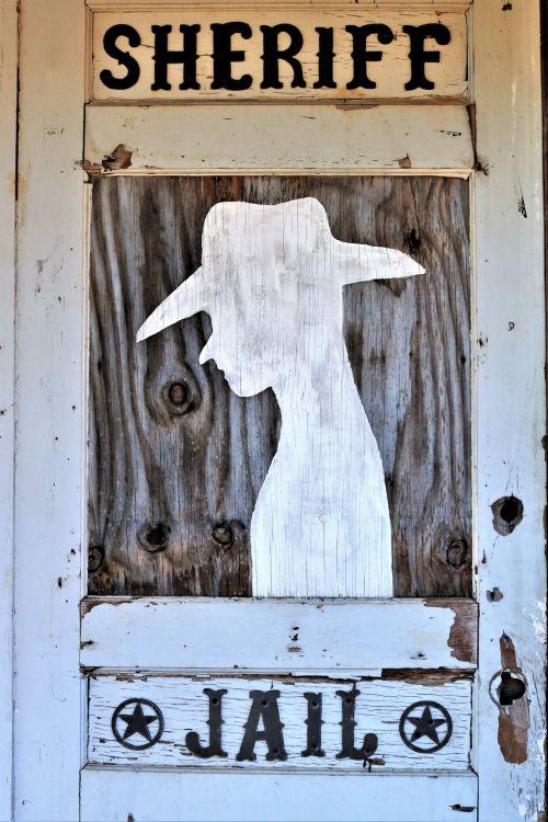 Old Door To Sheriffs Jail
