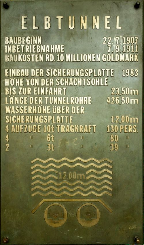 old elbe tunnel hamburg technical specifications