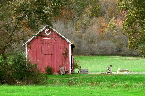 Old Fashioned Barn
