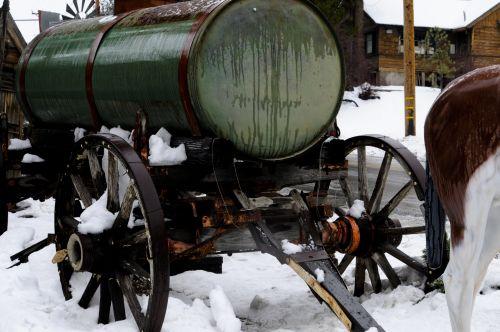 Old Fashioned Milk Wagon