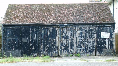 Old Garage Lock Up