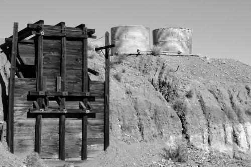 Old Goldmine & Water Tanks