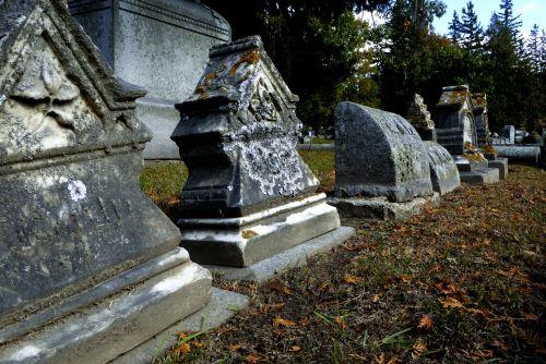 Old Graveyard Tombstones