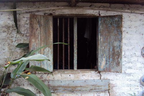 Old Haunted Window