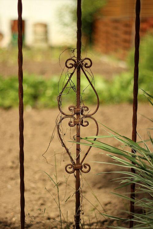old iron fence iron fence