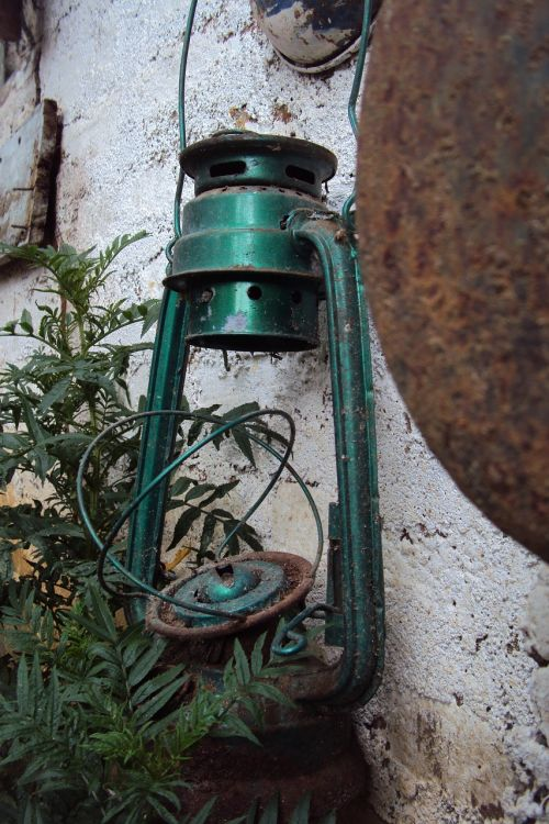 old lantern broken lantern green lantern
