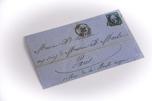 old letter mail philately