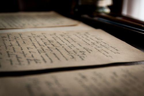 old letters old letter