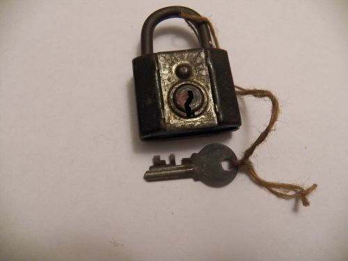 Old Lock And Key