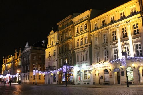 old market square poznań poland