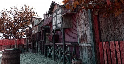 Old Mining Town