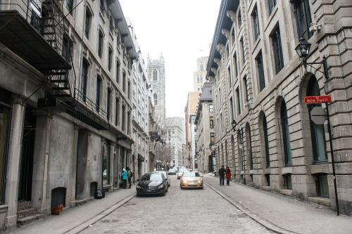old montreal downtown montreal