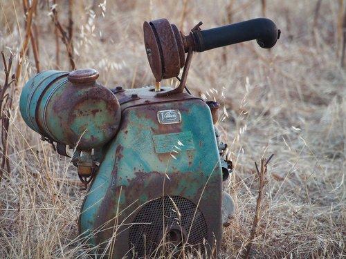 old motor  vintage  aged