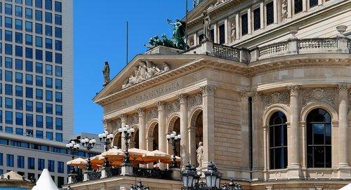 old opera  frankfurt  opera