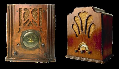 old radio radio vintage