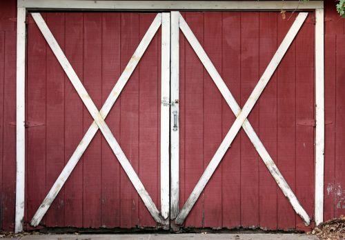 Old Red Barn Doors