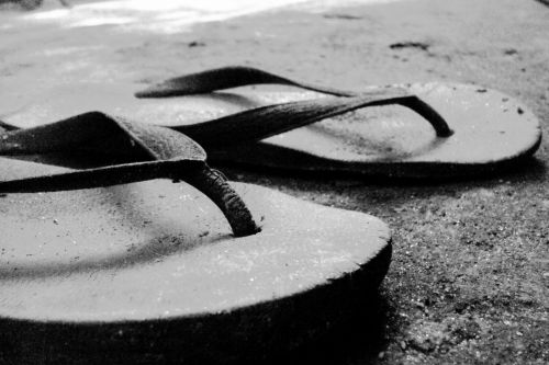 Old Rubber Slippers