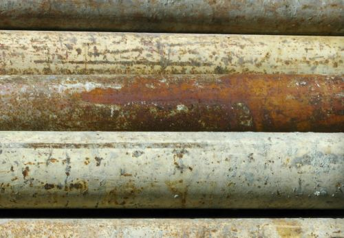 Old Rusted Pipes Background