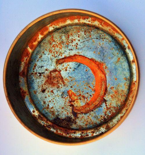 Old Rusted Tin